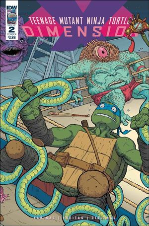 Teenage Mutant Ninja Turtles: Dimension X 2-A