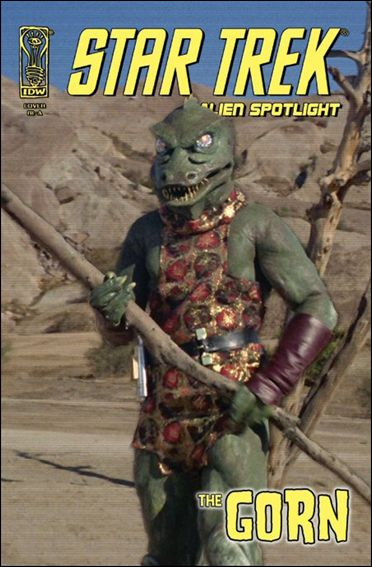 Star Trek: Alien Spotlight: Gorn 1-C by IDW
