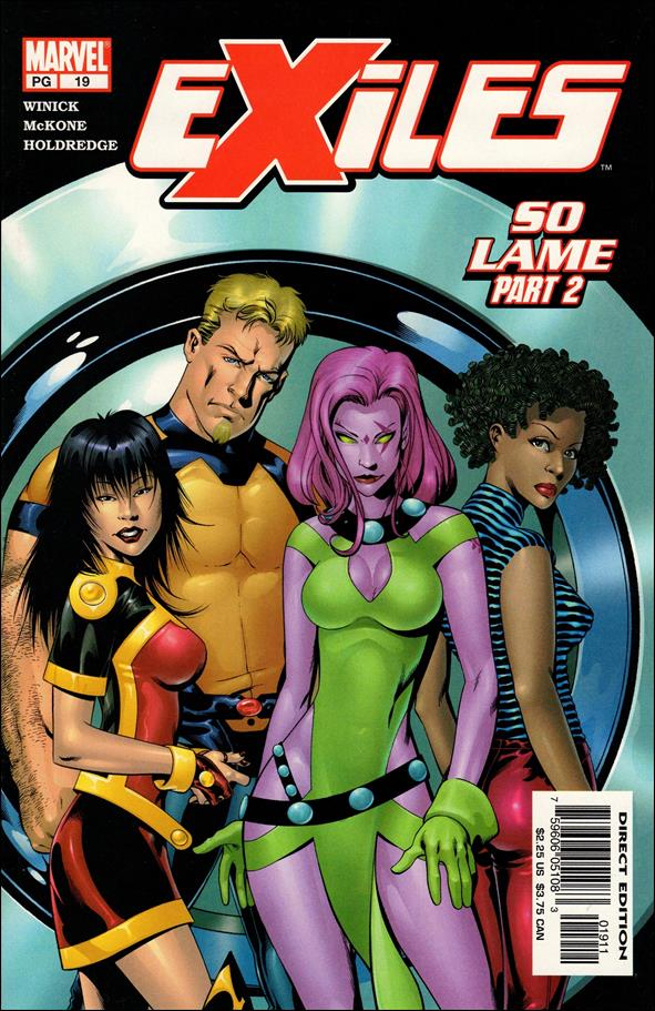 Exiles (2001) 19-A by Marvel