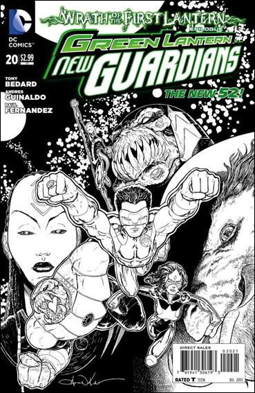 Green Lantern: New Guardians  20-B by DC