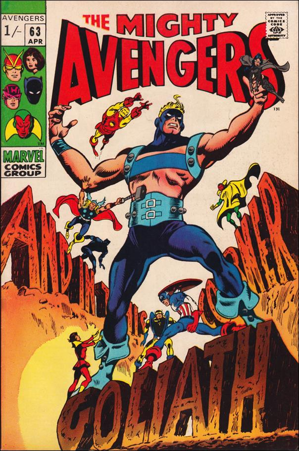 Avengers (1963) 63-B by Marvel