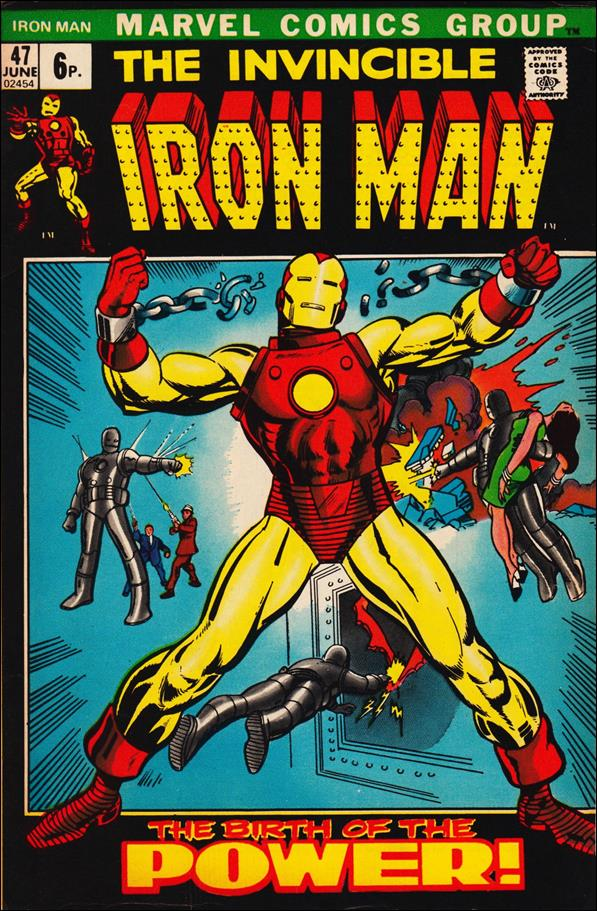 Iron Man (1968) 47-B by Marvel