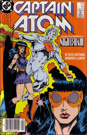 Captain Atom (1987) 14-A by DC