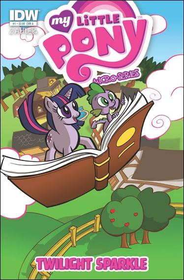 My Little Pony Micro-Series  1-B by IDW