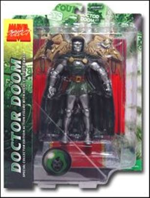 Marvel Select Doctor Doom w/ Throne
