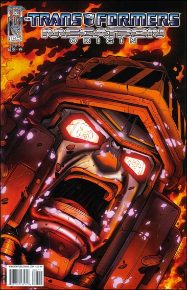 Transformers: Megatron Origin 4-B by IDW