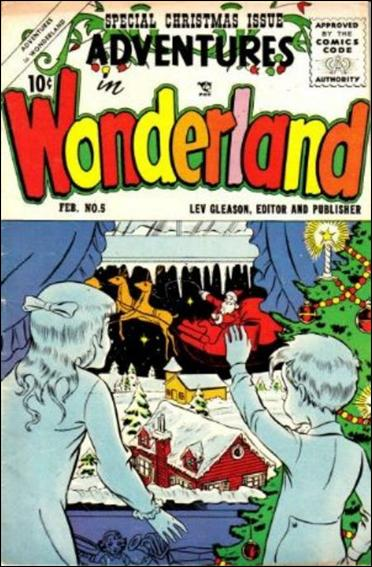 Adventures in Wonderland 5-A by Lev Gleason Productions