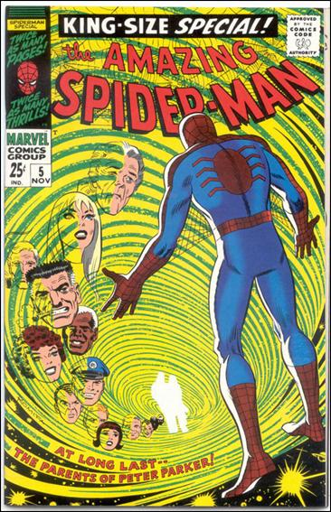 Amazing Spider-Man Annual 5-B by Marvel