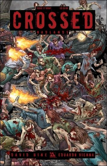 Crossed: Badlands 17-B by Avatar Press