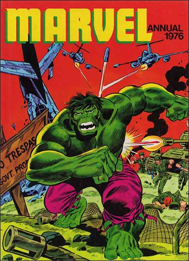 Marvel Annual (UK) 1,976-A by Marvel UK