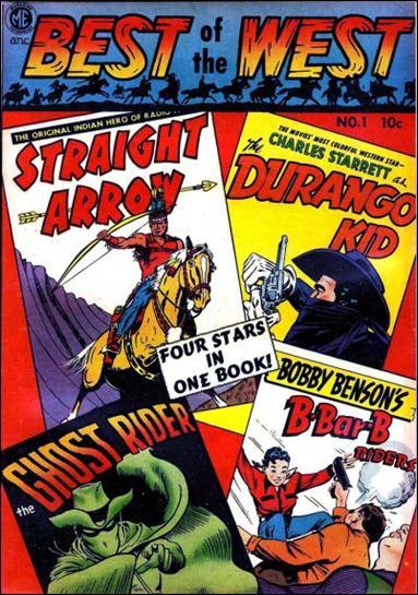 A-1 Comics 42-A by Magazine Enterprises