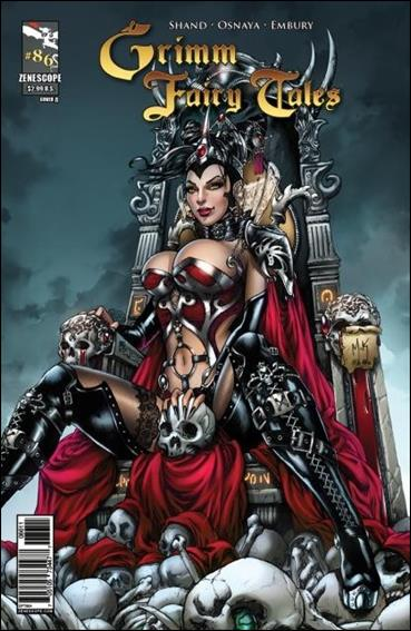 Grimm Fairy Tales 86-A by Zenescope Entertainment