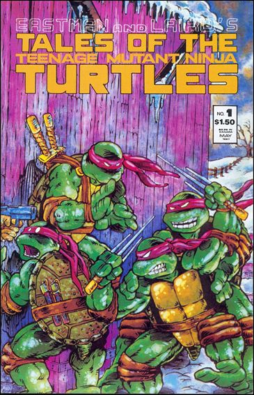 Tales of the Teenage Mutant Ninja Turtles 1-A by Mirage