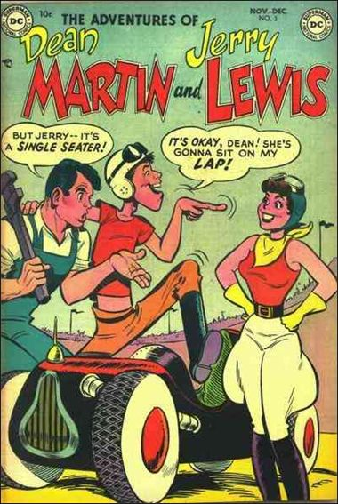 Adventures of Dean Martin & Jerry Lewis 3-A by DC