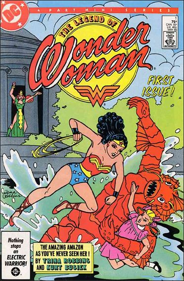 Legend of Wonder Woman (1986) 1-A by DC
