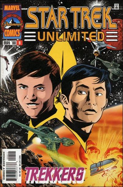 Star Trek Unlimited 9-A by Marvel