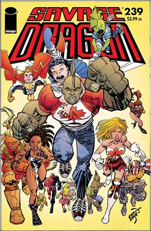 Savage Dragon (1993) 239-A