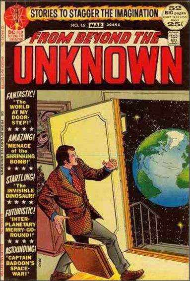 From Beyond the Unknown 15-A by DC