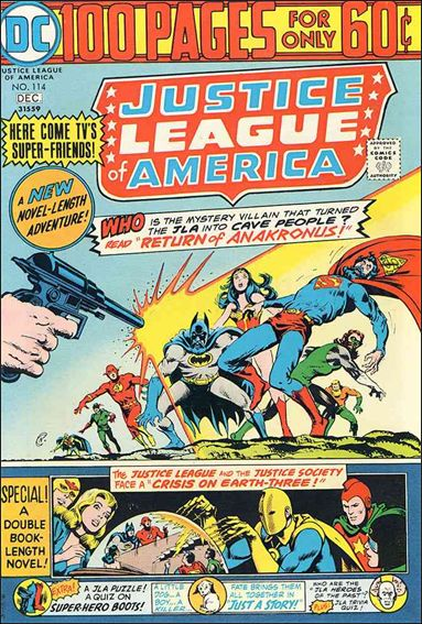 Justice League of America (1960) 114-A by DC