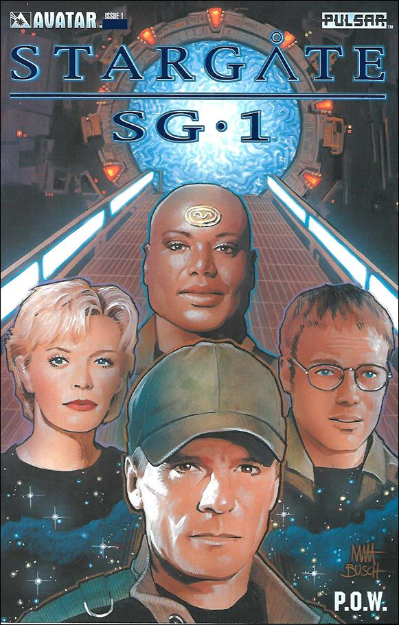 Stargate SG-1 POW 1-K by Avatar Press