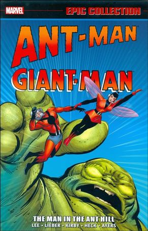 Ant-Man Giant-Man Epic Collection 1-A