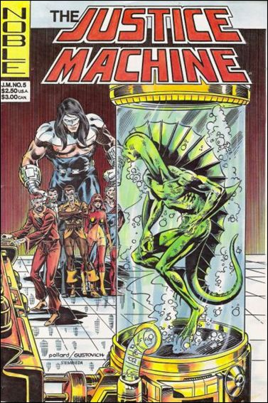 Justice Machine (1981) 5-A by Noble Comics