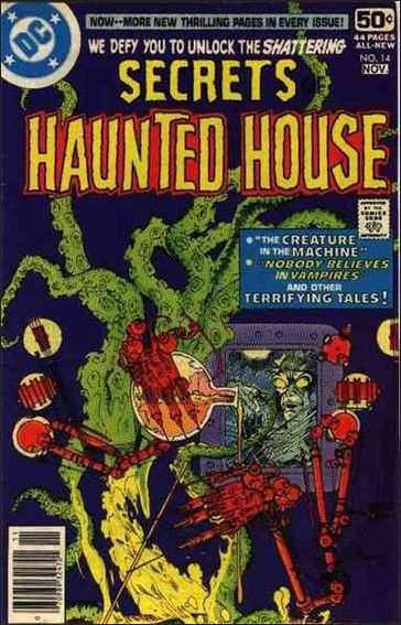 Secrets of Haunted House 14-A by DC