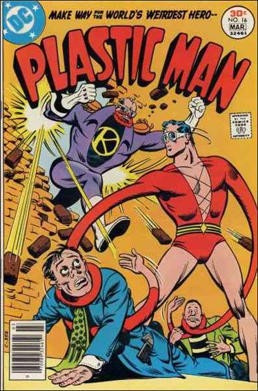 Plastic Man (1966) 16-A by DC