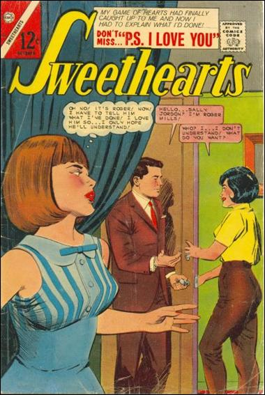 Sweethearts (1958) 89-A by Charlton