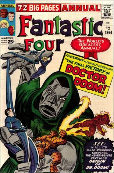 Fantastic Four Annual (1963) 2-A by Marvel