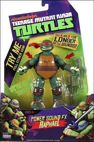 Teenage Mutant Ninja Turtles (2012) Power Sound FX Raphael