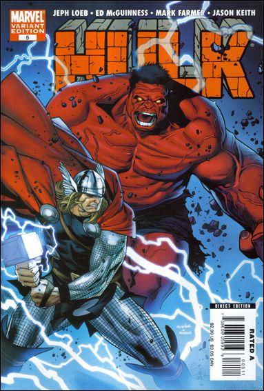 Hulk (2008)  5-B by Marvel