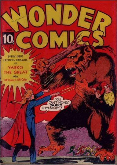 Wonder Comics (1939) 2-A by Fox