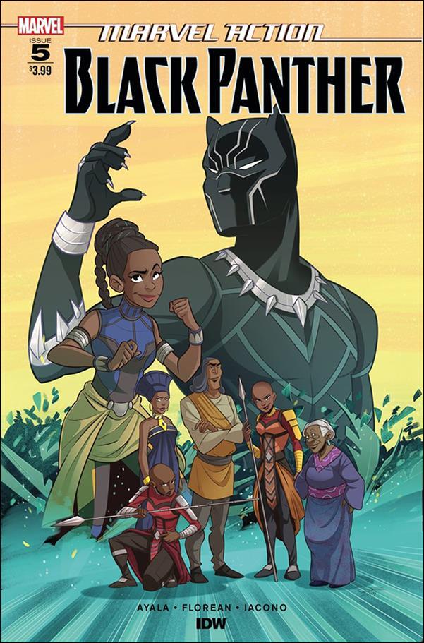 Marvel Action: Black Panther 5-A by IDW