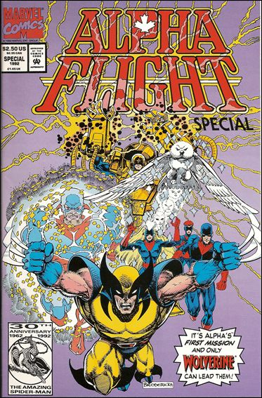 Alpha Flight Special (1992) 1-A by Marvel