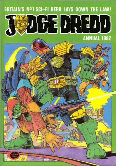 Judge Dredd Annual 1982-A by IPC