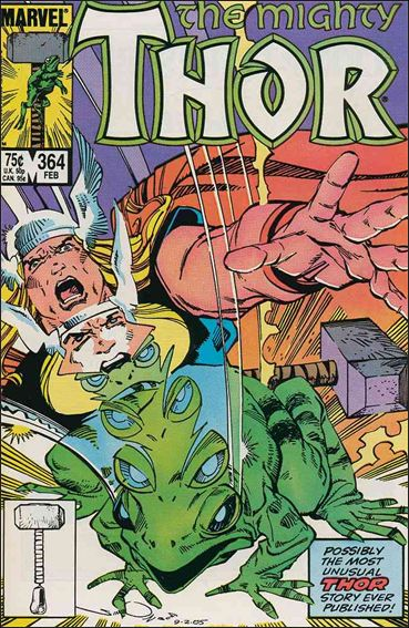Thor (1966) 364-A by Marvel