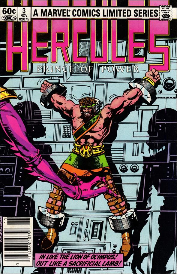 Hercules (1982) 3-A by Marvel