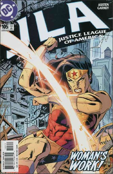 JLA 105-A by DC