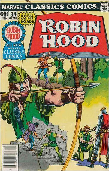 Marvel Classics Comics 34-A by Marvel