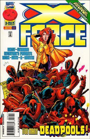 X-Force (1991) 56-A