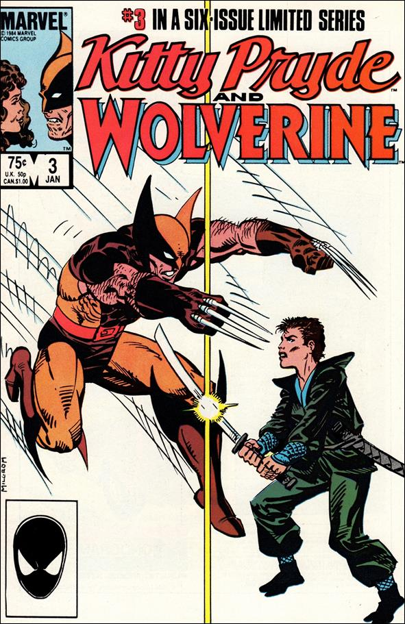 Kitty Pryde and Wolverine 3-A by Marvel