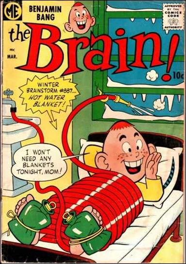 Brain (1956) 7-A by Magazine Enterprises