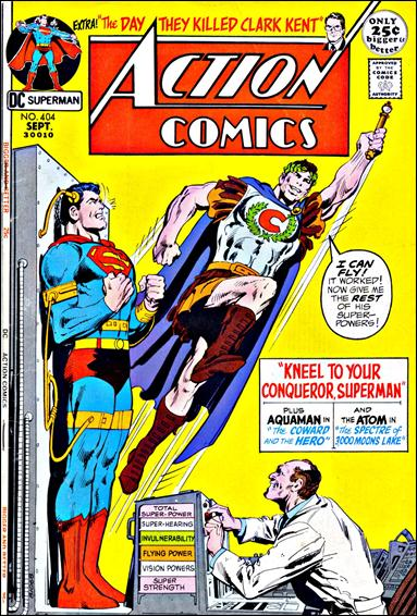 Action Comics (1938) 404-A by DC