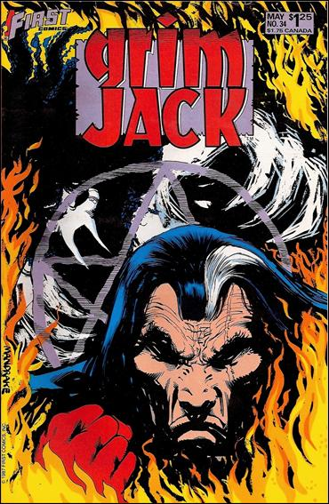 Grimjack 34-A by First