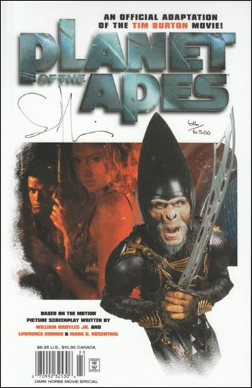 Planet of the Apes Movie Adaptation 1-C by Dark Horse