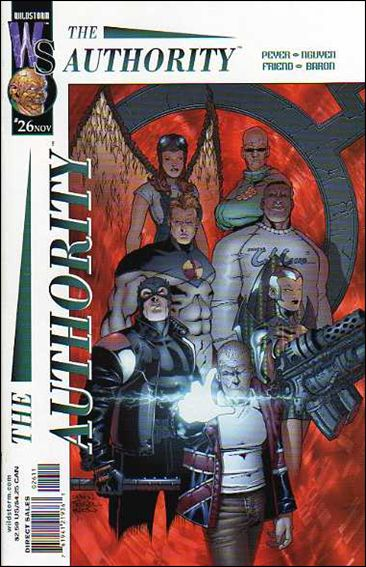 Authority (1999) 26-A by WildStorm