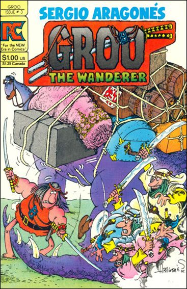 Groo the Wanderer 3-A by Pacific Comics