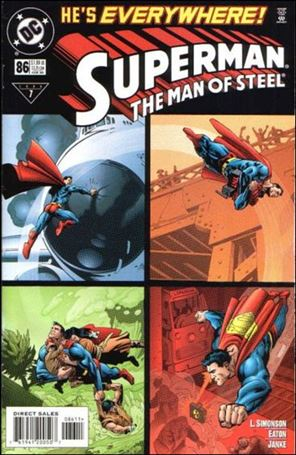 Superman: The Man of Steel 86-A