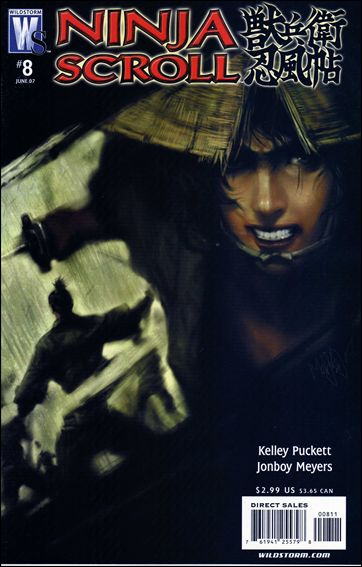 Ninja Scroll 8-A by WildStorm